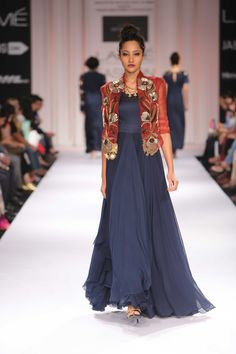 Divya Seth's Collection at Lakme Winter Festive 2014. #lakmefashionweek #JabongLFW