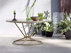 GRAVITY Coffee table by Roberti Rattan design Technical Emotions