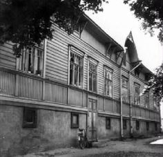 Tammelan puistokatu 11 vuonna 1962