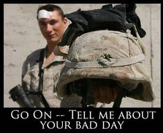 Remember those who are fighting for you... Cheer up!