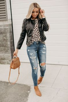 Simple Fall Outfits, Cute Casual Outfits, Winter Fashion Outfits, Fall Winter Outfits, Cute Jean Outfits, Edgy Outfits, Casual Jeans, Casual Chic, Summer Outfits