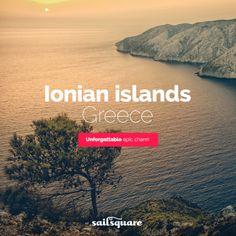 #Ionian islands #Greece #sailing  www.sailsquare.com