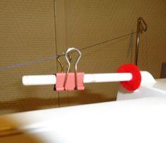 Ajouter un guide-fil sur sa machine (en cas d'utilisation d'un porte-cône, par exemple)