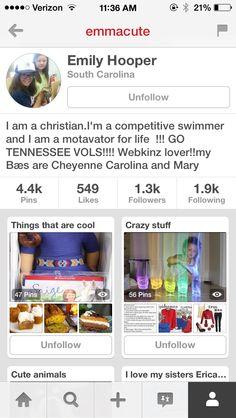 Follow Her!!! She's Awesome!!!!! @emmacute