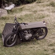 """The bivouac is fully adaptable to different motorcycle heights from a low chopper, midsized scrambler to a higher cross machine. No matter what you ride,…"""