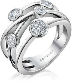 ShopStyle: HarrodsBoodles Raindance Classic Anniversary Ring