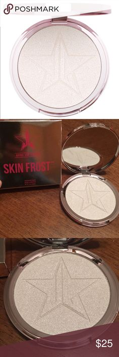 Crystal Ball Jeffree Star Skin Frost! Brand new, never used and in original box. 100% authentic. Jeffree Star Skin Frost Highlighter in Crystal Ball. No Trades! Jeffree Star Makeup Luminizer
