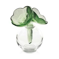 Lalique Anemone Perfume Bottle, Green | Bloomingdale's