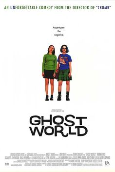 """Ghost World -- (At the Movie Theater) """"Why, sir. Do you not know that for a mere twenty-five cents more you can get a large beverage? You know, I'm only telling you this because we're such good friends."""""""