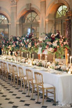 Photo of a wedding table decoration captured at wedding in Paris planned by Fête in France Star Wedding, Wedding Table, Wedding Centerpieces, Wedding Decorations, Dream Wedding, Wedding Beauty, Wedding Ideas, Floral Centrepieces, Floral Arrangements