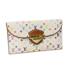 Louis Vuitton Portefeuille Eugenie Monogram Multicolor Wallets White Canvas…