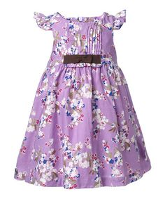 Take a look at this Regal Orchid Suzanne Dress - Infant, Toddler & Girls by Jottum on #zulily today!