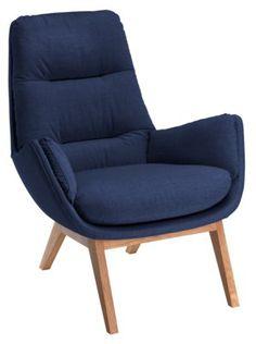 Sessel ANDRES, marine, auch in anderen Farben erhältlich