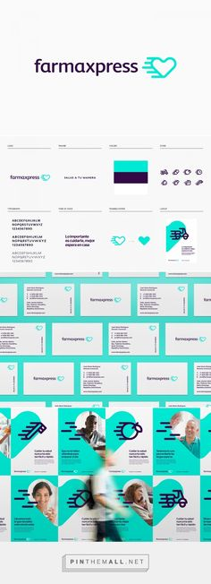 Farmaxpress on Behance... - a grouped images picture - Pin Them All