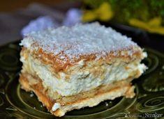 Krówka bez pieczenia na krakersach i herbatnikach Sandwiches, Food And Drink, Breakfast, Cakes, Diy Cake, Finger Sandwiches, Food Cakes, Scan Bran Cake, Cake