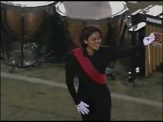 Phantom Regiment 1996. Two of my good friends working it in the guard!