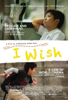 I Wish on DVD November Twelve-year-old Koichi lives with his mother and retired grandparents in Kagoshima, in the southern region of Kyushu, Japan. His younger bro New Movies, Movies To Watch, Good Movies, Movies Online, Movies Free, 2012 Movie, I Movie, Movie Shots, Movie List