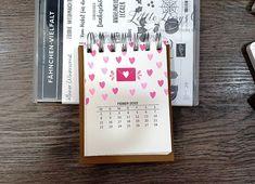 Kalender 2021 beim 3D Paper Trimmer Blog Hop Dezember 2020 - Thema: Willkommen 2021 Paper Trimmer, 3d Paper, Stampin Up, Blog, Heartfelt Creations, Mini, Crafts, Spring, Book Folding