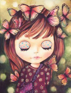 Claudia Tremblay  : Iris, the dreamer...