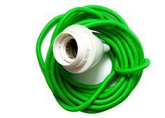 Trendy Neon Kabelschnur für Hängelampen