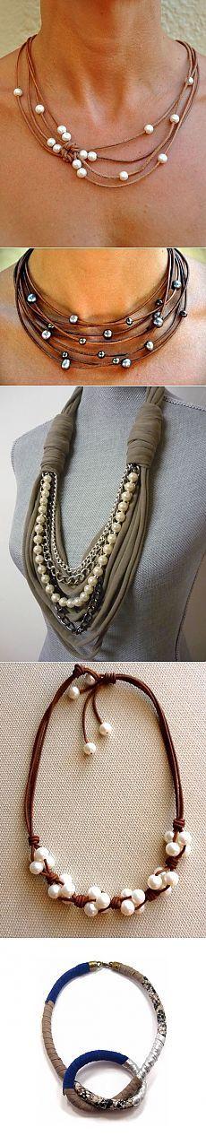 Moda de perlas (compilación y bonos) / Joyería y bisutería / Las manos - patrones, alteración de la ropa, la decoración interior con sus propias manos - en la segunda calle