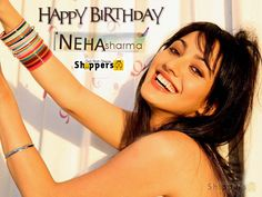 Wishing a very Happy Birthday to the #NehaSharma. #HappyBirthdayNehaSharma