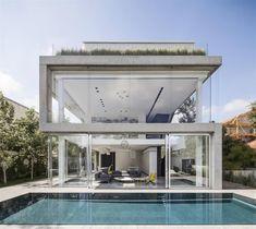 Casa em Ramat Gan por Pitsou Kedem Arquitetos   HomeAdore