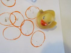 rubber ducky, you're the one, you make bath time so much fun... :)