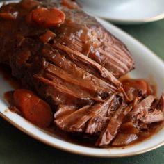 Classic Slow Cooker Pot Roast.