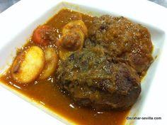 carrillada (stewed pig's cheeks) - Bodeguita Romero