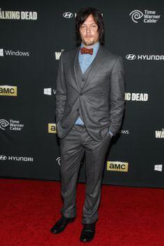 The Walking Dead Season 4 Premiere - Norman Reedus