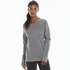Tek Gear® Fleece Crewneck Sweatshirt - Women's - any color - medium Black Friday sale