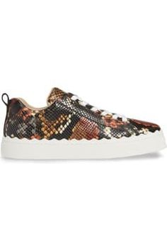 Lauren Snake Embossed Sneaker Fashion Essentials, Front Row, Cas, Trainers, Snake, Louis Vuitton, Shoes, Tennis Sneakers, Zapatos