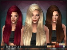 The Sims Resource: Nightcrawler-Violet • Sims 4 Downloads