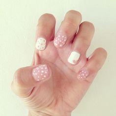 Uñas lindas #nails #love #cute