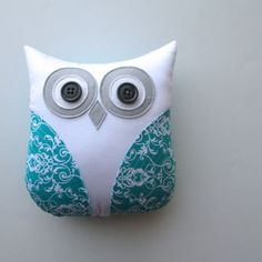 owl soft toy......will make this