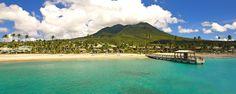 Four Seasons Resort Nevis. Lovely little island and resort.