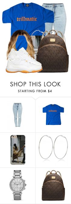 """""""~Slow Motion~"""" by nasiaamiraaa ❤ liked on Polyvore featuring River Island, MICHAEL Michael Kors and NanaOutfits"""
