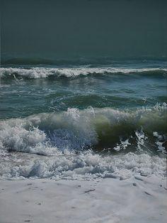 Vadim Klevenskiy - Evening Tide, oil on canvas