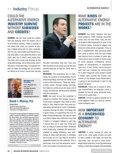 Nevada Business Magazine Article