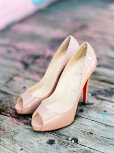 Zapatos de novia : Christian Louboutin : Foto, Brancoprata : Tendencias de Bodas Magazine