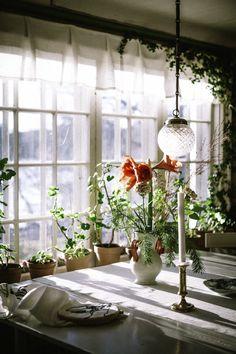 Karin & Carl Larsson´s hem i Sundborn. Interior Styling, Interior Decorating, Interior Design, Home Decor Inspiration, Design Inspiration, Carl Larsson, Textiles, Cabins And Cottages, Scandinavian Home