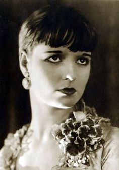 An poster sized print, approx (other products available) - Louise Brooks - American silent film actress and dancer. Date: - Image supplied by Mary Evans Prints Online - Poster printed in the USA Louise Brooks, Harold Lloyd, Charlie Chaplin, Silent Film Stars, Movie Stars, Belle Epoque, Divas, Kansas, Sound Film