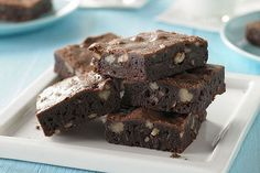 Satisfy your sweet tooth with these delicious BAKER'S ONE BOWL Brownies. This amazing BAKER'S ONE BOWL Brownies recipe will be a new family-favorite.