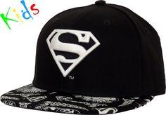 0fa0b9bb496 Superman New Era Kids 950 Glow In The Dark Black Cap (Ages 4 - 10 years)