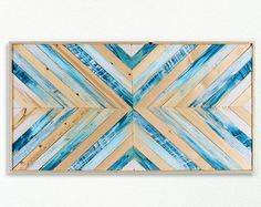 Created by hand, this reclaimed wood wall art has been intricately designed to accentuate a symmetrical pattern, and is perfect for any niche in your home. Ethos Woodworks crafts each piece by hand, and values the slight variations of wood grain; the grain of the wood may vary a little bit from piece to piece. Each piece is created with a mixture of reclaimed wood and locally purchased wood / plywood backing (US grown & produced). Shipping Costs: ***The shipping price listed is for ...