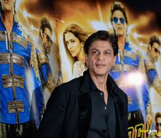 ShahRUkh Khan at the Happy New Year / Slam Press Confrence in London