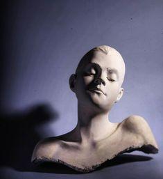 #2017 #woman #portrait #portre #sculpting #sculpt #sculpture #sculptor #art #arts #classic #mywork #work #university #interesting #cool… Plaster Sculpture, Sculpture Art, Famous Sculptures, Sculpting, Modern Art, Medieval, Woman Portrait, Statue, Abstract