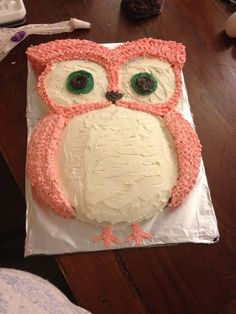 Fotopostup na tortu v tvare sovy Owl cakes Round cake pans and