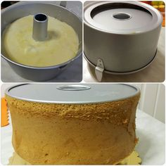 Torta Angel, Angel Cake, Torta Chiffon, Tortilla Sana, Sweet Recipes, Cake Recipes, American Cake, Marble Cake, Healthy Cake